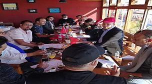 المكتب التنفيذي للاتحاد المغربي لأرباب ومسيري قاعات الحفلات يصادق في اجتماعه الأول بالداخلة على القانون الداخلي