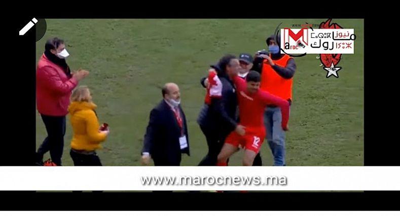 شجار عنيف بين منتخب ليبيا ومنتخب تونس