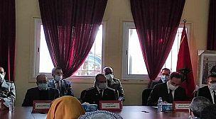 تنصيب رجال السلطة الجدد بإقليم تيزنيت