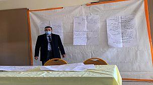 لقاء تكويني في تقنيات مشروع المؤسسة لفائدة مديري جماعة الممارسات المهنية رقم 7  بقلعة السراغنة