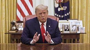 الرئيس الامريكي دونالد ترامب امام المجهول في مجلس الشيوخ