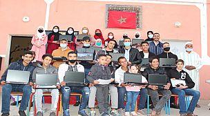 في ظل الجائحة أنشطة جمعوية مكثفة تشهدها بلدة أمزوضة بإقليم شيشاوة