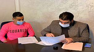 رسمياً : فريق المغرب التطواني يتعاقد مع اللاعب أنس جبرون