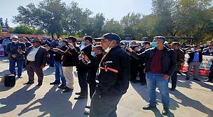 اعتصام جمعيات الإدارة التربوية بأكاديمية مراكش – فيديو-
