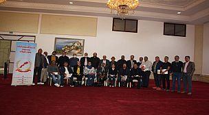 فيديو… تأسيس الفرع الجهوي سوس ماسة للاتحاد المغربي لأرباب ومسيري قاعات الحفلات
