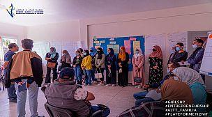 زيارة ميدانية لمنصة الشباب لفائدة مستفيدات برنامج GIRLSUP