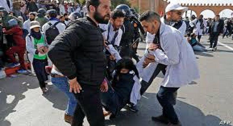 السلطات المغربية تحذر الأساتذة المتعاقدين من تنظيم احتجاجها الوطني..