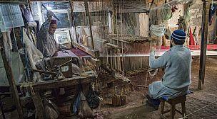 Concours pour un stage de formation en tissage du brocart, un métier traditionnel en voie de disparition