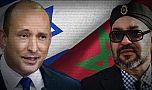 الملك محمد السادس يهنئ نفتالي بينيت رئيس الوزراء الإسرائيلي الجديد.