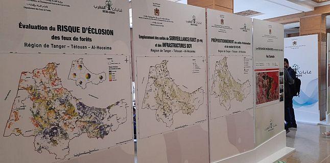FEU DE FORETS:  LA COMMISSION REGIONALE DE PREVENTION ET DE LUTTE CONTRE LES INCENDIES AUX AGUETS DANS  LA REGION DE TANGER TETOUAN AL HOCEIMA