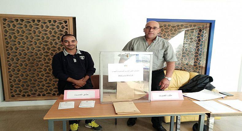 عائشة ديبي ومروان عصيب ممثلين لموظفي جهة سوس ماسة باللجان الثنائية