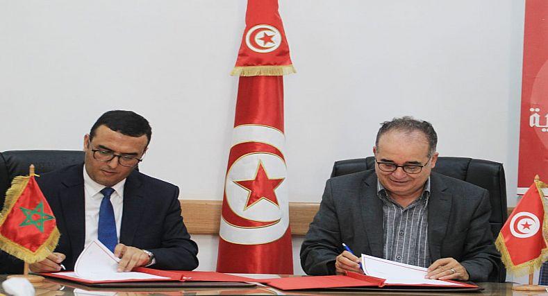 توقيع مذكـرة تفاهم بين وزارة الشغل ووزارة الشؤون الاجتماعية التونسيـة