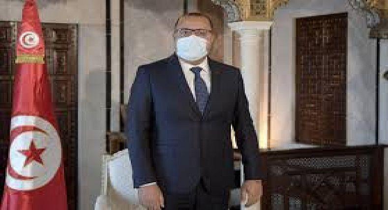 إصابة رئيس الحكومة التونسية بسلالة كورونا الهندية بعد تلقي اللقاح .
