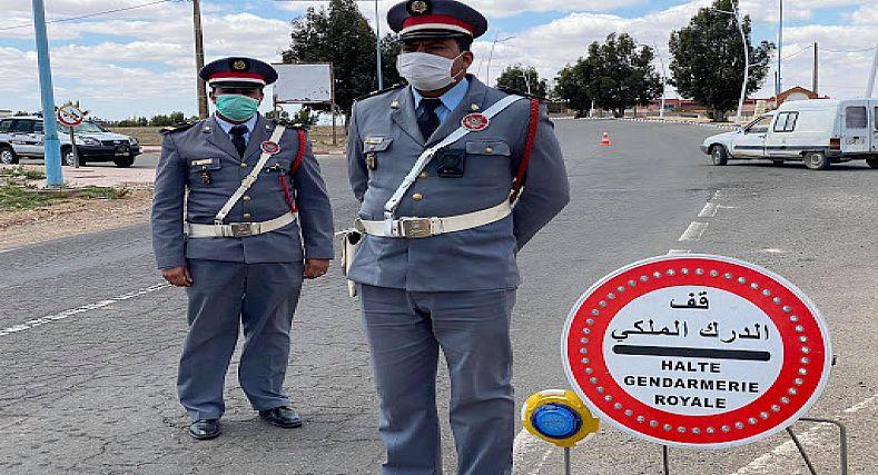 تسلطانت : دوريات أمنية مشددة من طرف الدرك الملكي تطيح بالكثير من المجرمين.