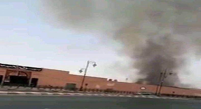 عااجل .. اندلاع حريق بسوق باب الخميس بمراكش.