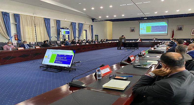 انعقاد الاجتماع الخامس  للجنة الإشراف والتتبع والتقييم لبرنامج التنمية الحضرية لأكادير 2020- 2024