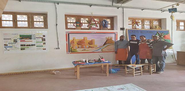 سفراء مؤسسة التفتح الفني للتربية والتكوين بأكادير يتقاسمون إبداعاتهم مع جمعيات وفعاليات وطنية بالمغرب العميق+ صور