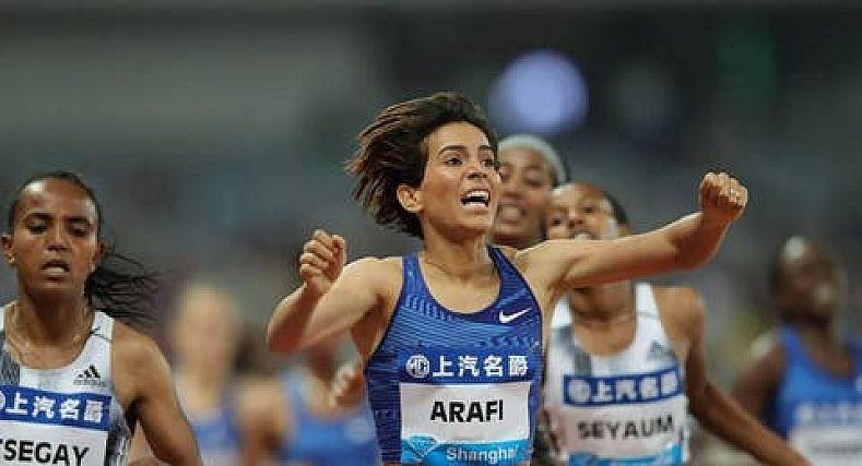 العرافي تتأهل إلى نصف نهائي 800 متر بأولمبياد طوكيو.