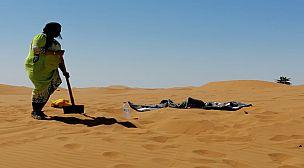 مرزوكة قرية الرمال الذهبية… حمام الرمال وراحة البال