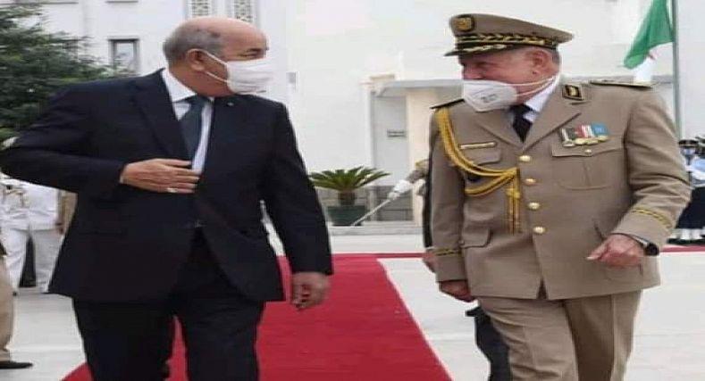 القرار الجزائري اعلان عن فشل كل مساعي كابرانات النظام العسكري