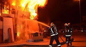 طنجة.. حريق ضخم يأتي على منزل ويخلف إصابات وخسائر مادية.