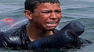 إختفاء أشرف الذي صارع البحر للوصول الى سبتة في ظروف غامضة