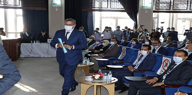 رسيما عزيز أخنوش رئيسا للمجلس الجماعي لأكادير