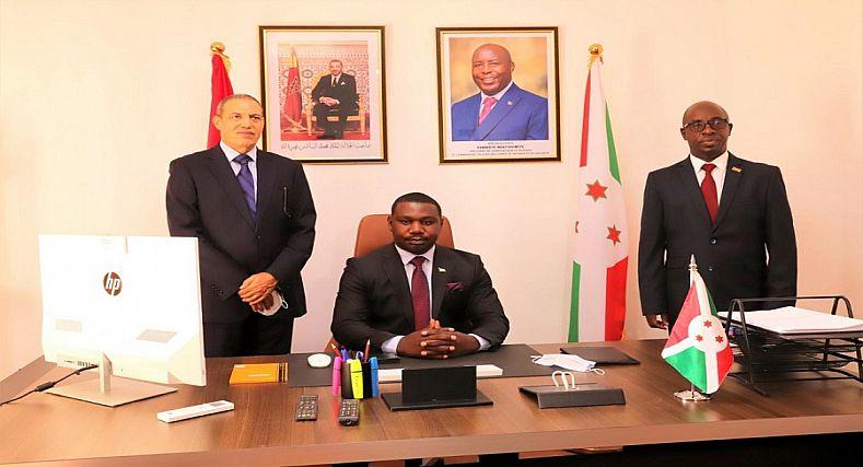 العيون .. تنصيب القنصل العام لدولة بوروندي