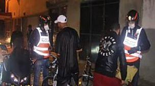 أمن القنيطرة يعتقل شخصا لتورطه في قضية تتعلق بالتخدير واحداث الفوضى بالشارع العام
