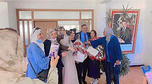 انتخاب التجمعي عبد الرحيم بوراس رئيسا لجماعة مهدية باغلبية ساحقة وسط فرحة الساكنة