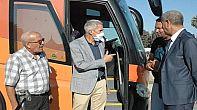 حافلة جديدة بمواصفات جمالية وتقنية عالية لنادي عمل بلقصيري لكرة القدم.