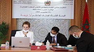 حصر القائمة النهائية للمترشحين والمترشحات لانتخابات ممثلي القضاة في المجلس الأعلى للسلطة القضائية