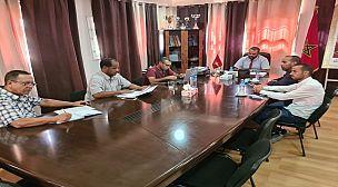 شيشاوة…المدير الاقليمي للتربية الوطنية يعقد جلسة عمل مع رئيس جماعة بوابوض