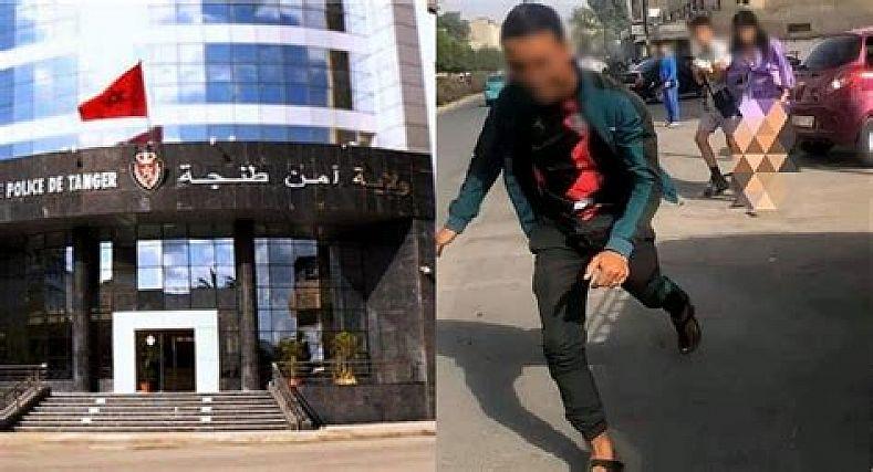 الأمن الوطني ينجح في توقيف مصور الاعتداء على شابة بالشارع  العام بطنجة