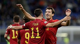 """إسبانيا """"تثأر"""" من إيطاليا في """"سان سيرو"""" وتعبر لنهائي """"دوري الأمم الأوروبية"""""""