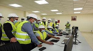 المكتب الوطني للكهرباء والماء  ينهي بنجاح تجارب تشغيل المحطة الشمسية الفوطوفولطية بأرفود