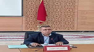 تزنيت…محمد الشيخ بلا رئيسا للمجلس الاقليمي