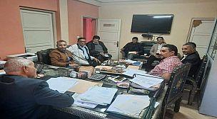 اللقاء التواصلي المنعقد بمقر المديرية الإقليمية للصناعة التقليدية بتارودانت