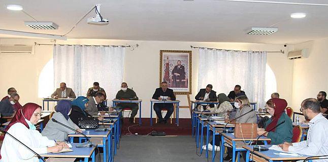 أشغال الجلسة الثانية من الدورة العادية لشهر أكتوبر لمجلس الجماعي للدشيرة الجهادية
