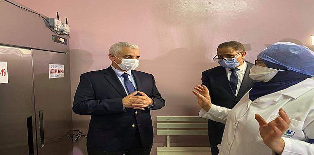 """آيت طالب يشترط على موظفي ومستخدمي الصحة الإدلاء بـ""""جواز التلقيح"""" لدخول مقرات عملهم ويعفي المرضى منه"""