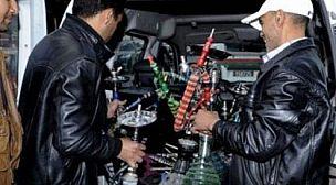 أمن أكادير يشن حملة تمشيطية على مقاهي الشيشة بالمدينة .