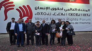 حضور قوي لوفد الاتحاد المغربي للشغل في المنتدى العالمي لحقوق الانسان في دورته الثانية في مراكش و الذي سيمتد من 27 الى 30 نونبر 2014