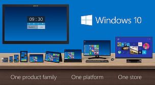 ويندوز 10 على أجهزة المستخدمين خريف 2015.